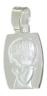 Bezaubernder Schutzengel Anhänger SILBER 925 Silberanhänger Knabe Kettenanhänger
