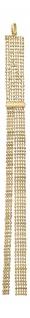 Extra langer Anhänger Gold 750 beweglicher Goldanhänger 18kt 5, 6 gr Blickfang!