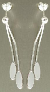 Edle Ohrhänger Silber 925 - Ohrstecker Silberohrhänger - Design Ohrringe Tropfen