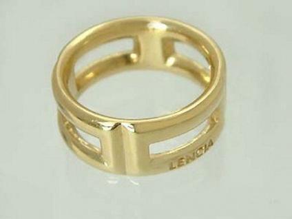 Bandring Gold 585 massiv breiter Goldring 585 Ring 9 gr. massiver Damenring 14Kt