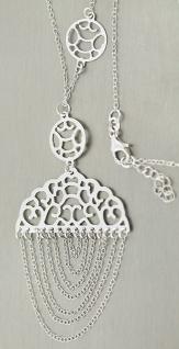Bezaubernde Silberkette 925 mit Anhänger - Kette Silber tolles Collier Halskette