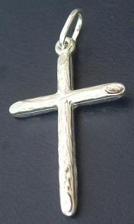 Schlichtes Kreuz Silberkreuz 925 Anhänger Kreuz großes Kreuz Silberanhänger