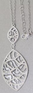 Super Kette und Anhänger Silber 925 rhodiniert Silberkette Halskette Collier 925