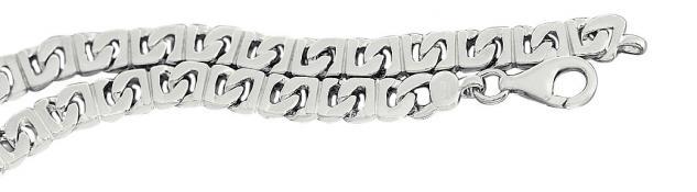 22 cm massives Silberarmband 925 rhodiniert 18 gr schwere Armkette Armband