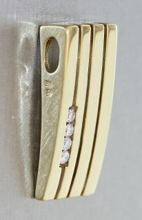 Anhänger Gold 585 Brillanten Kettenanhänger Brillantanhänger Diamant Top Design - Vorschau 2