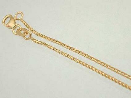 Massives Goldarmband 585 - mit Karabiner - Armband Gold - Armkette echt Gold
