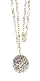 Goldkette 585 mit Anhänger Sterne Collier Halskette Kette Gelbgold 14 Karat