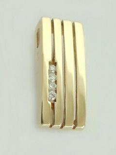 Anhänger Gold 585 Brillanten Kettenanhänger Brillantanhänger Diamant Top Design - Vorschau 4
