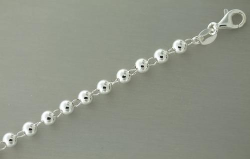 Super Optik - Kugelarmband Silber 925 - Armband echt Silber - Silberkette Kugeln