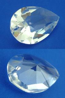 Feng Shui großer Kristall Tropfen Kristall facettiert zum Aufhängen 4 x 2, 8 cm