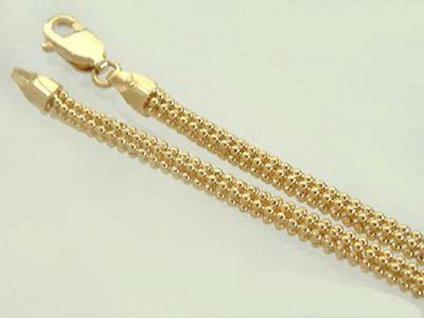 41 cm Goldkette 585 - rund - Collier - Kette Gold - 9, 5 gr. Halskette Gelbgold
