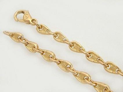 Massives Goldarmband - Armband Gold 750 - 9, 5 gr. Armkette Designerarmband 18 kt