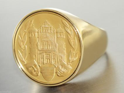 Ring Gold 585 Grosser Ring in 14 kt Gold (585/000), Wiener Volksoper