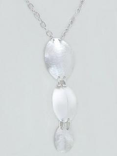 Collier in Silber 925 Blickfang Silberkette Kette Silber mit Anhänger