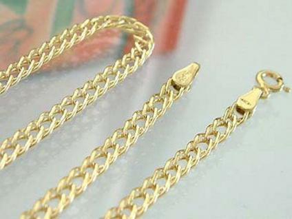 50 cm breite Goldkette 585 - Supermuster Halskette - Kette Gold