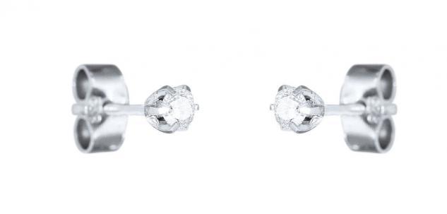 Ohrstecker Silber 925 Zirkonia Ohrringe 1 Paar Damen Herren Kinder Solitär
