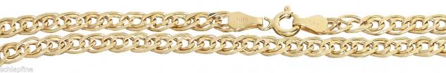 50 oder 55 cm breite Goldkette 585 Halskette Kette Gold Collier Goldcollier