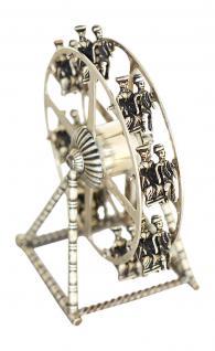 Riesenrad Silber 835 zum Sammeln Vitrinenobjekt sammelwürdiges Riesenrad