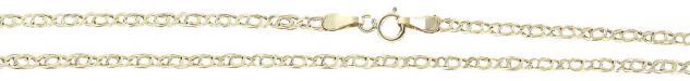 45 cm Goldkette 585 - sehr schönes Muster - Halskette - Kette Gold 14 kt Collier