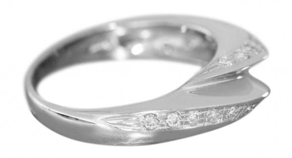 Weißgoldring 750 Brillanten 0, 30 ct. Brillantring Damenring Ring 18 Karat - Vorschau 2