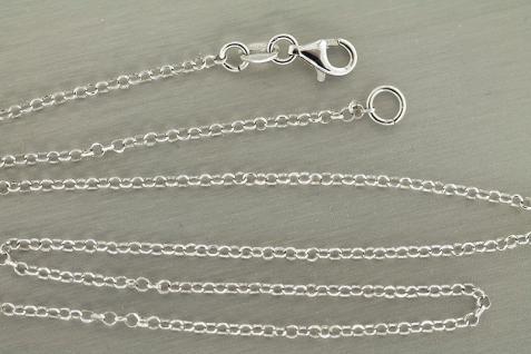 Massive feine Silberkette 925 funkelnd geschliffen Kette Silber 45 - 50 - 60 cm