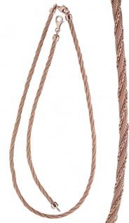 Tolles Armband echt Silber 925 Rotgold vergoldet Silberarmband Armkette Damen