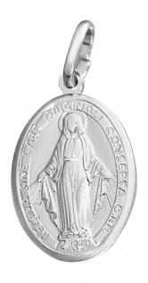 Anhänger Heilige Maria Silber 925 wundertätige Medaille Madonna Milagrosa