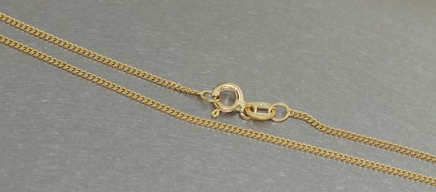 Feine Panzerkette Gold 333 zarte Goldkette Halskette Kette Gold 333