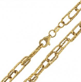 50 cm Goldkette 585 - große Glieder - Kette Gold 14 kt - Halskette - Collier