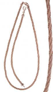 Tolles Armband echt Silber 925 Rotgold vergoldet - Silberarmband Armkette Damen