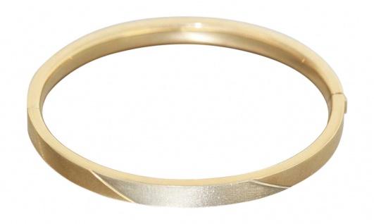 Armreif Gold 585, 6 mm breit, Gold Armreif 585, 14 kt Goldarmreif, Armband