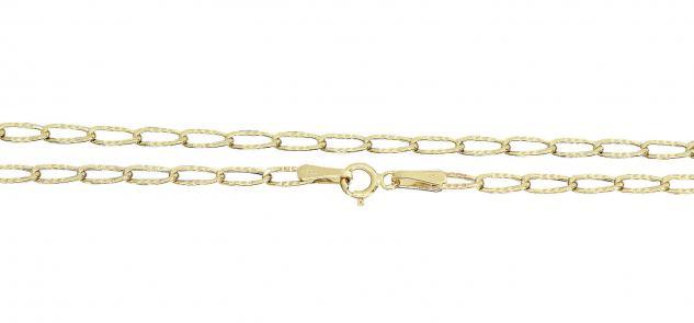 Echte Goldkette 585 - 50 cm Halskette - Gliederkette - Gold 14 Karat - Collier