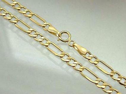 Goldarmband 585 Figaromuster 20 cm Armband Gold Armkette 14 kt