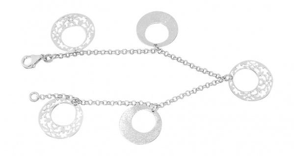Armband Silber 925 Bettelarmband Silberarmband 5 Anhänger Armkette Damen