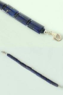 Dekoratives Armband - echter Lapislazuli - Lapisarmband - Armband Silber 925