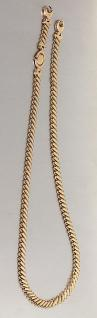 Collier Gold 585, Kette Gold, Länge 51 cm, Goldkette 585, 14 kt Gold