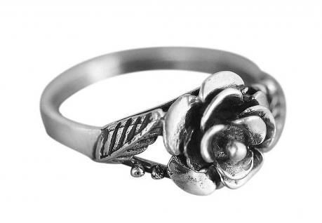 Silberring 925 - im Namen der Rose - toller Rosenring - Ring Silber - zur Tracht