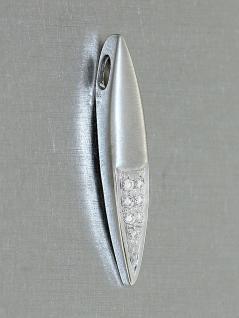 Anhänger Weißgold 585 mit Brillanten 0, 11ct Diamantanhänger Weißgoldanhänger