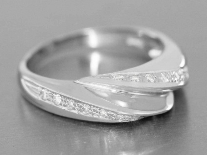 Weißgoldring 750 Brillanten 0, 30 ct. Brillantring Damenring Ring 18 Karat - Vorschau 4
