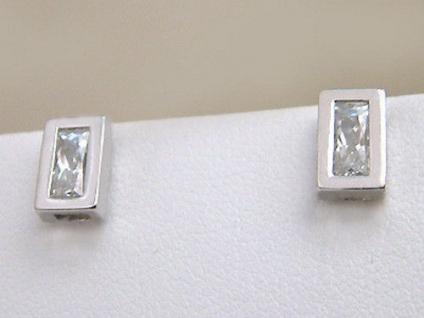 Ohrstecker Silber 925 Silberohrstecker Zirkonia Ohrschmuck Ohrringe