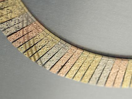 Collier Gold 585 - Kette Gold - Länge 42 cm Goldkette 585 14 kt Gold - Halsreif
