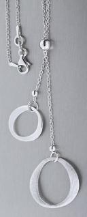 Elegantes Y-Collier Silber 925 Silberkette Kette mit Anhänger Karabiner