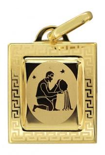 Sternzeichen Wassermann Gold 585 Anhänger 14 Karat Kettenanhänger Gelbgold