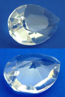 Kristall geschliffen großer Kristalltropfen Feng Shui Tropfen facettiert