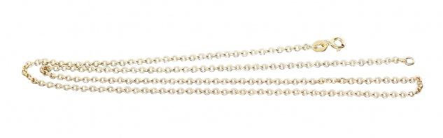 Erbskette Gold 585 Halskette glänzende Goldkette 14 Karat Collier 45 cm / 50 cm