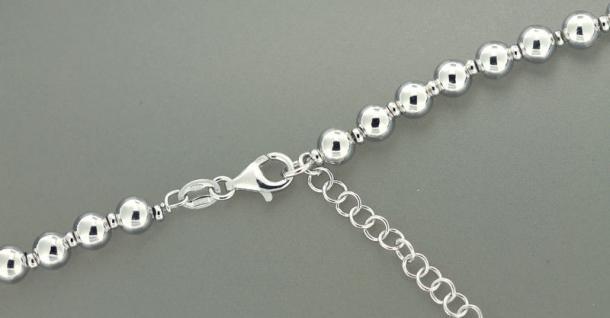Silberarmband 925 - trendy Kugelarmband - Silber Perlenarmband Armkette Armband