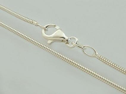 40 cm geschmeidige starke Schlangenkette - Kette Silber 925 - Silberkette 1, 6 mm