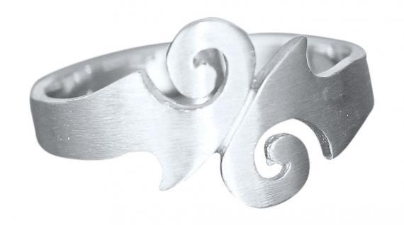 Massiver Silberring 925 Ring echt Silber Damenring Sterlingsilber