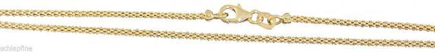 45 / 50 / 55 / 60 cm Goldkette 585 Himbeerkette Kette Gold 14 Kt. Halskette