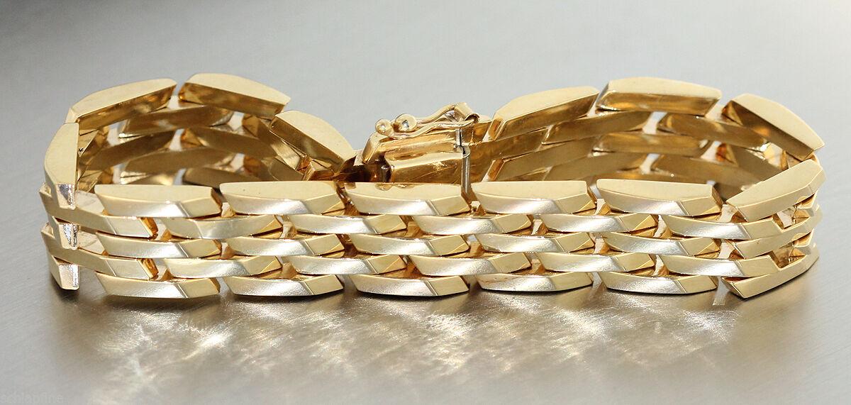 armband gold 585 goldarmband 585 14 kt gold 19 5 cm lang goldkette kaufen bei hobra gmbh. Black Bedroom Furniture Sets. Home Design Ideas